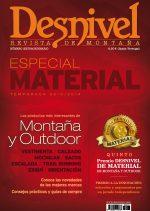 Portada de la revista Especial Material 2013/2014 de Desnivel. [WEB]  ()