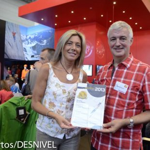 Entrega del Premio Desnivel a Manuel Baquero