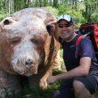 Fernando del Hoyo se retrata con sus gafas Julbo en una excursión por la Montaña Palentina.  (Fernando del Hoyo)