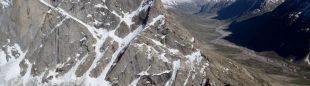 Alberto Urtasun y Félix Sánchez en el tramo final del Toro Peak (Himalaya indio)  (A. Urtasun / F. Sánchez)