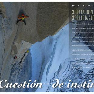 Patagonia en la revista Desnivel nº 325. Julio-agosto 2013  ()