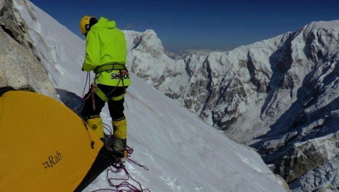 Ascensión de Marek Holecek y Zdenek Hruby a la cara norte del Talung (Nepal)  (Marek Holecek)