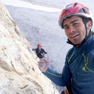 Dani Moreno en la Bellavista (Cima Ovest