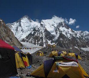 Campo base de los Gasherbrum en verano de 2013  (Patxi Goñi)