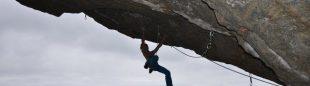 Adam Ondra en Move 9b/+ de Flatanger (Noruega)  (Col. A. Ondra)