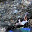 Ashima Shiraishi en The automator 8B de RMNP (Colorado)  (Alex Kahn)