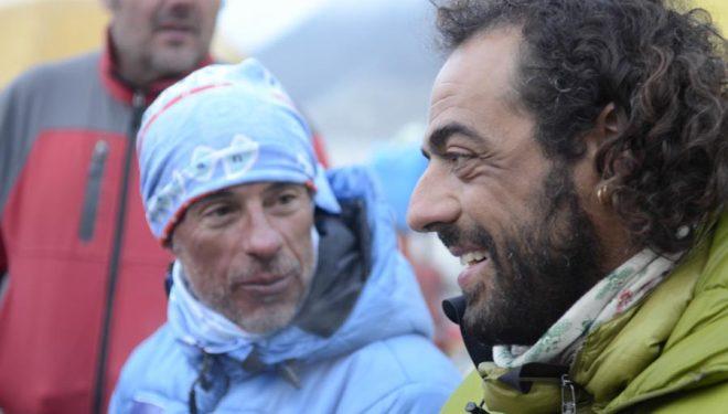 Carlos Pauner en el campo base del Everest/Lhotse (2011)  ()