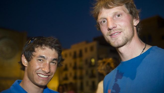 David Lama y Peter Ortner