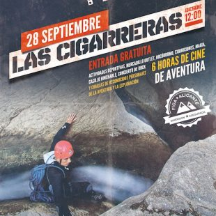 Cartel del Festival Independiente de Cine de Aventura de Alicante 2013 ()