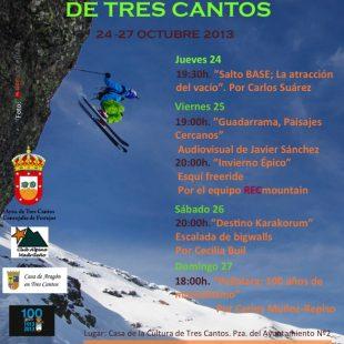 Cartel VII Semana de Montaña de Tres Cantos 2013  ()