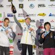 Podio femenino de la Copa del Mundo de Puurs 2013: Mina Markovic