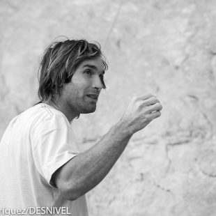 Chris Sharma en Oliana.