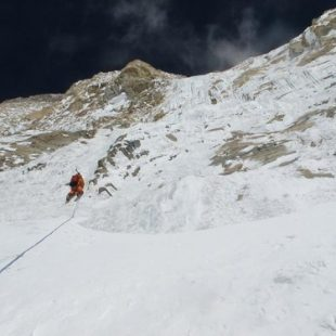 Expedición de Yannick Graziani y Stéphane Benoist a la cara Sur del Annapurna en 2010  (Guides06.com)