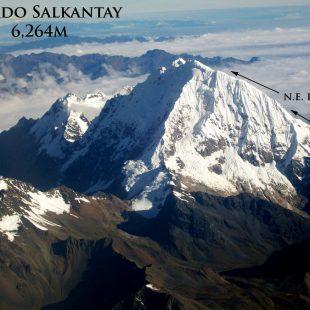 Línea de ascensión al nevado Salkantay (Perú)  (Nathan Heald)
