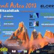 Cartel de la Semana de la Montaña 2013 del Erdella en Elorrio. Mendi Astea 2013  ()