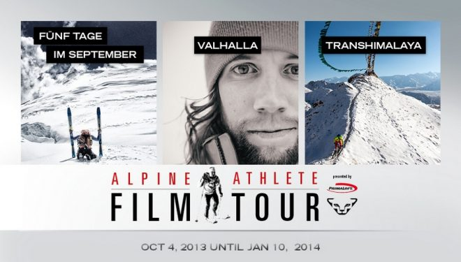 Cartel del Alpine Athlete Film Tour 2013-2014
