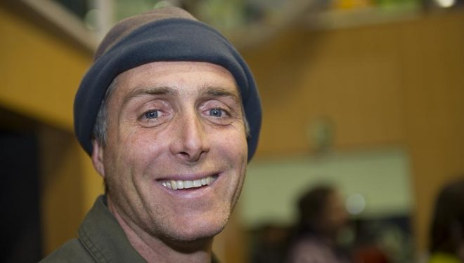 El escalador y saltador BASE Sean Leary Stanley en el EMMeet 2013