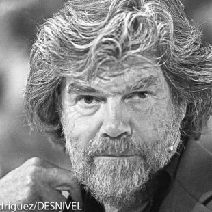 Reinhold Messner en International Mountain Summit 2013