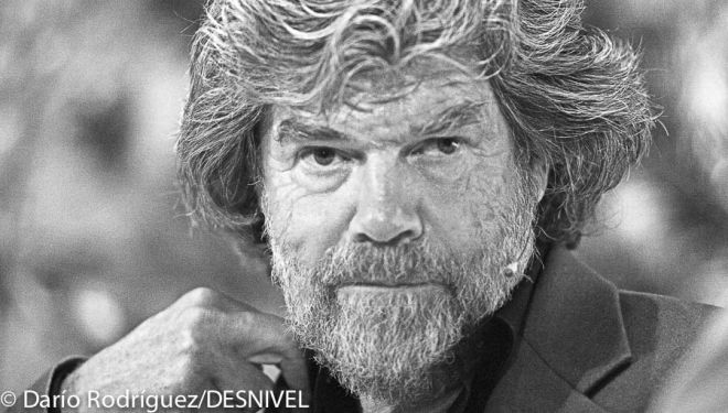 Reinhold Messner en International Mountain Summit 2013