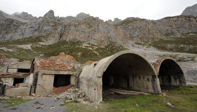 Instalaciones de la mina de las Mánforas