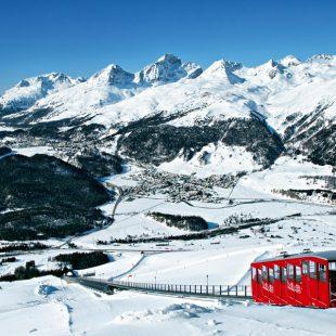 St. Moritz. La metrópoli alpina. Graubünden  (Turismo Suiza)