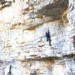 Ryan Vachon en Redbeard M12 de Colorado escalado con seguros flotantes  (Stanley Vrba)