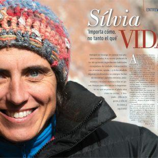 Entrevista a Sílvia Vidal. Desnivel 329.  ()