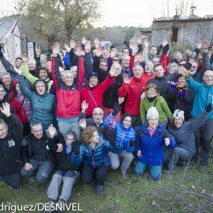 Participantes en la  XXIV Reunión Nacional de Escaladores.  ()