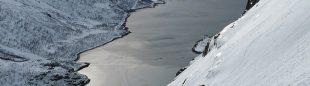"""Descenso del Geitgaljern"" Primer Premio Concurso de Fotografía Desnivel Esquí de Montaña 2013.  (J.M. Negredo)"