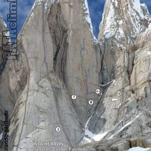 Cara oeste de la Torre Egger  (Rolando Garibotti / Pataclimb.com)