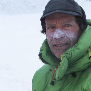 Oscar Cadiach en el Gasherbrum 1. Julio 2013  (Oscar Cadiach)