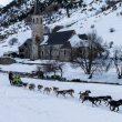 Mushing o trineo de perros en el refugio de Montgarri  (Ternua)