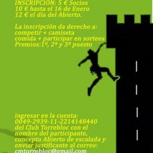 Primer Encuentro de Escalada y Búlder de Torrelodones  ()