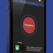 Con la aplicación Alpify sólo hay que pulsar este botón en la pantalla del teléfono para que los grupos de rescate que lo tienen integrado sepan exactamente dónde se encuentra el usuario.  ()