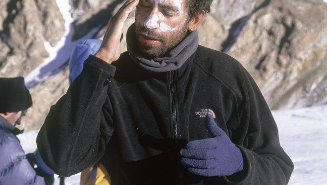 Los especialistas advierten que es imprescindible protegerse la piel en los deportes de montaña.  (Darío Rodríguez)