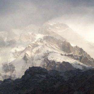 La vertiente Rupal del Nanga Parbat invernal  (Simone Moro)