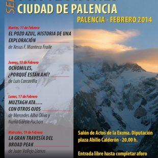 Cartel Ciclo de proyecciones Ciudad de Palencia 2014  ()
