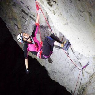 Lucie Hrozová en Bafomet M14 en los Montes Tatras (Polonia)  (Adam Kokot)
