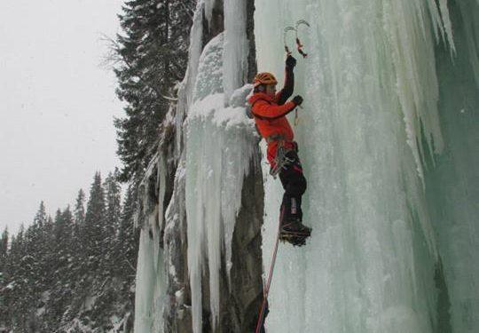 Toti Solé escalando en Noruega  (Facebook)