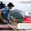 Apertura del especial Sendas GR de la revista Grandes Espacios nº 198. Abril 2014  ()