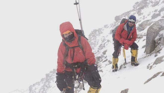 Michal Obrycki y Pawel Dunaj en el Nanga Parbat invernal  (Nangadream.blogspot.com)