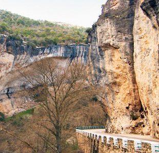 Las paredes del Estrecho de Priego (Cuenca). (Escaladasostenible.org)