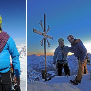 Ueli Steck y Michi Wohlleben en su trilogía invernal a las Tres Cimas de Lavaredo