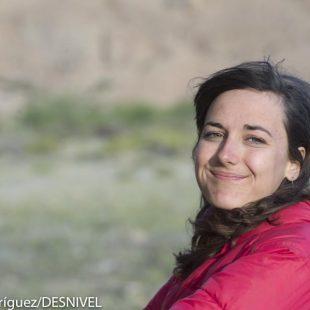 la escaladora francesa Alizee Dufraisse. Roc Trip Petzl 2012