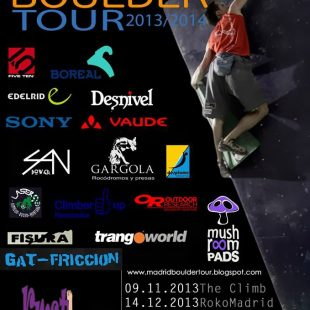 Cartel del II Madrid Boulder Tour  ()