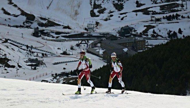 Marc Pinsach y Nil Cardona en el Campeonato de España de equipos  (Corriols de Llum)