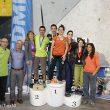 Podio de la Copa de España de Dificultad 2014 (Barcelona)  (Carlos Pérez / Top30)