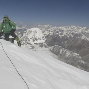 Alex Txikon en la ruta británica del Kangchenjunga (Colección Alex Txikon)