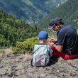 En familia en el Parque natural de Sorteny.  (Turismo Andorra)