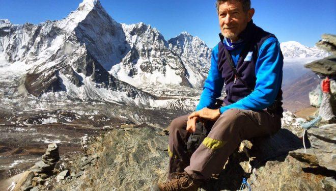 Carlos Soria en el Kangchenjunga 8.586m  ()